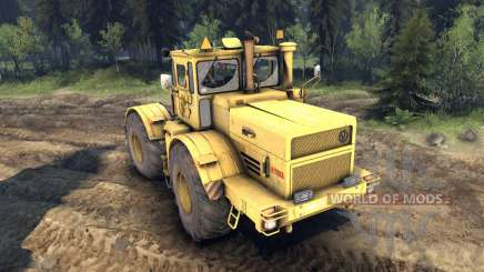 K-700A Kirovets para Spin Tires