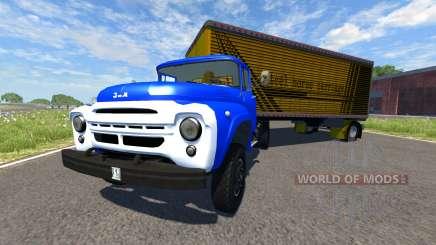 ZIL-V con semi carruaje de Acero para BeamNG Drive