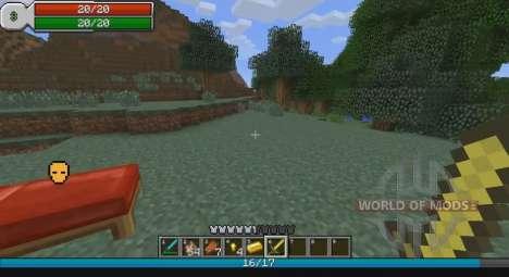 La interfaz de RPG para Minecraft