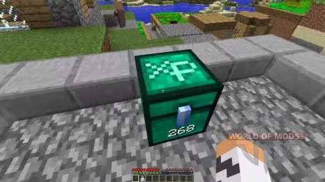 En el pecho de experiencia para Minecraft