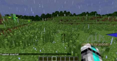 Superior de lluvia para Minecraft