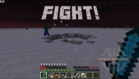 La lucha de la música para Minecraft