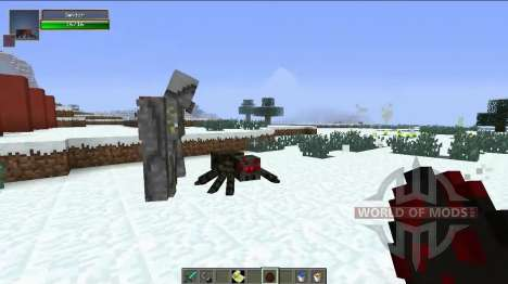 Nueva Golems para Minecraft