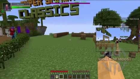 La imagen-en-imagen para Minecraft