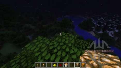 La iluminación dinámica para Minecraft
