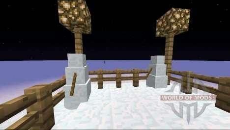 Muñecos de nieve generado para Minecraft