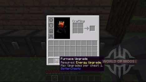 Superior del pecho. para Minecraft