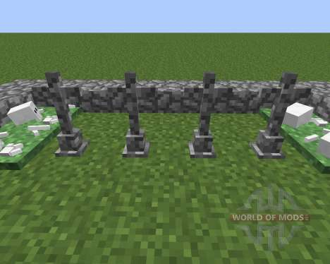 Gravestone Mod para Minecraft