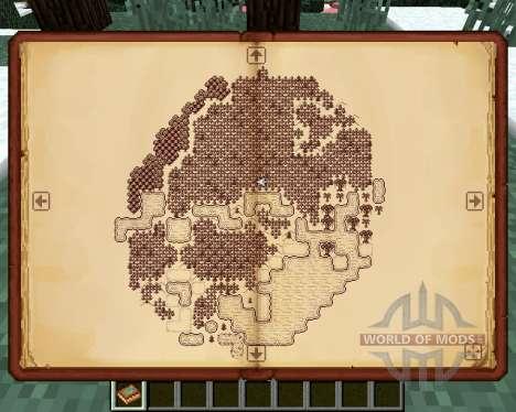 Antique Atlas para Minecraft