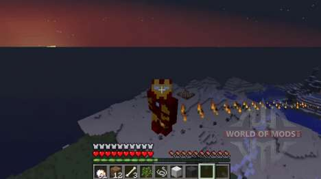 Hombre de hierro para Minecraft