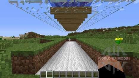 Las plumas se caen ahora para Minecraft