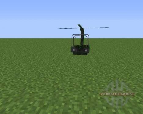 THX Helicopter para Minecraft