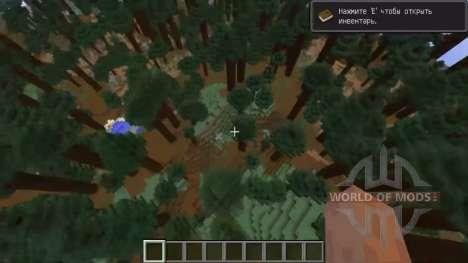 Los nuevos tipos de generación para Minecraft