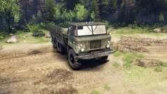 GAS-34 experimentado 1964 para Spin Tires