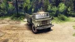 GAZ-66 v1.3 para Spin Tires