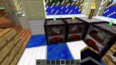 Un nuevo modelo de la estufa para Minecraft
