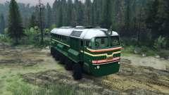 La Locomotora Diésel De La M62 para Spin Tires