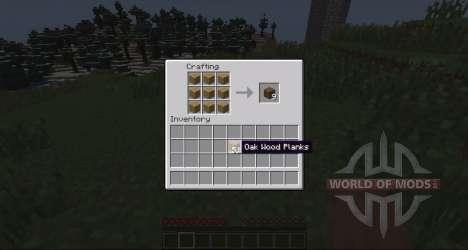 La conversión de la madera para Minecraft