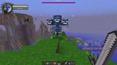 Indicadores de daños para Minecraft