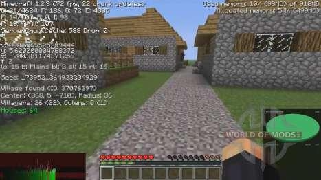 La información acerca de los pueblos para Minecraft