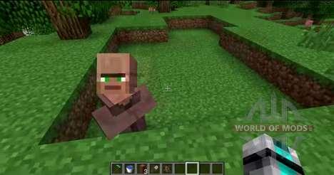 Quitar de la nariz de los residentes locales para Minecraft