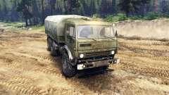 KamAZ 43101 para Spin Tires