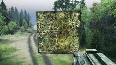 Holográfica mapa de el guarda Forestal para Spin Tires