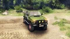 """VAZ-2121 de """" Campo"""" para Spin Tires"""