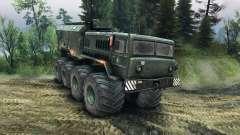 MAZ-535 Monstruo para Spin Tires