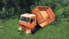 Nueva carrocería para KAMAZ-6520 para Spin Tires