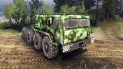 MAZ-535 de camuflaje v1 para Spin Tires