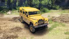 Land Rover Defender Camel Trophy para Spin Tires