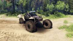 The Raakry v1.1 rusty para Spin Tires