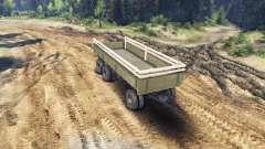 Trailer lado v1 para ZIL-133 G1 y ZIL-133 GA para Spin Tires