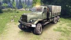 Nuevo motor de sonido KrAZ-255 para Spin Tires