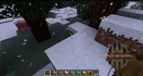 Las nevadas para Minecraft