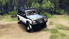 Nissan Patrol Y60 para Spin Tires