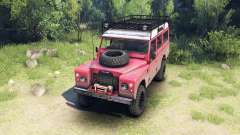 Land Rover Defender Series III v2.2 Red para Spin Tires