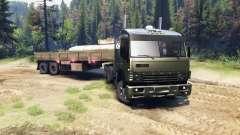 KamAZ-5410 para Spin Tires