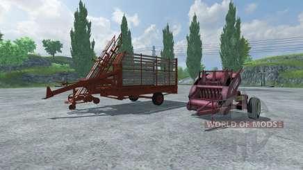 Fardos fardos y fardos de recogida para Farming Simulator 2013