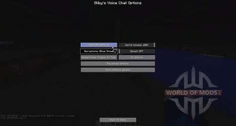 Chat de voz para Minecraft