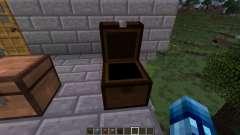 Los cofres de los diferentes tipos de madera