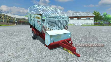 Forraje remolque HORAL MV 022 para Farming Simulator 2013