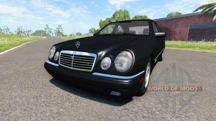 Mercedes-Benz E420 W124 stock para BeamNG Drive