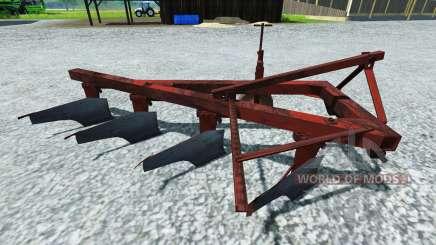 El arado PLN-4-35 para Farming Simulator 2013