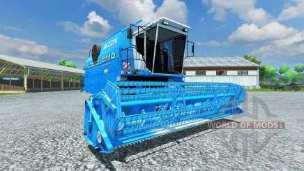 Bizon Z 110 blue para Farming Simulator 2013