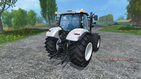 New Holland T6.160 increased tires para Farming Simulator 2015