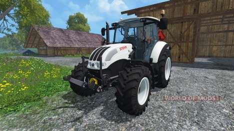 Steyr Multi 4115 Ecotronik v2.0 Universal para Farming Simulator 2015