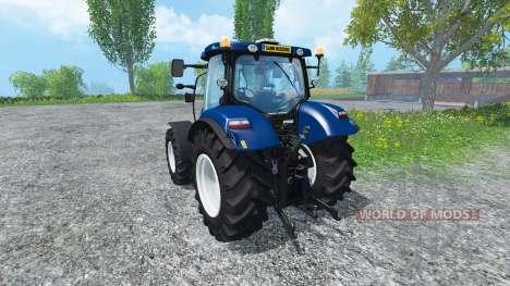 New Holland T6.160 Blue Power v1.1 para Farming Simulator 2015