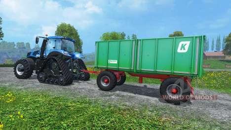 Case Trailer Attacher v3.0 para Farming Simulator 2015